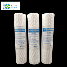 Free Shipping 3pcs/lot  sediment polypropylene  filter  10 1 Micron PP Sediment Water Filter Replacement PP filter Cartridge 10 heavy duty clear sediment prefilter kits 50 micron to 5 micron for water filter purifier