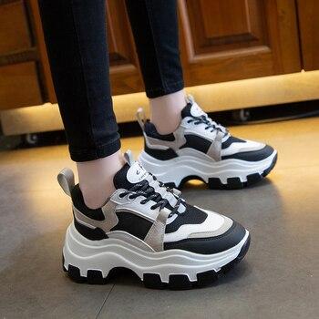 Women Chunky Sneakers Vulcanize Shoes 3