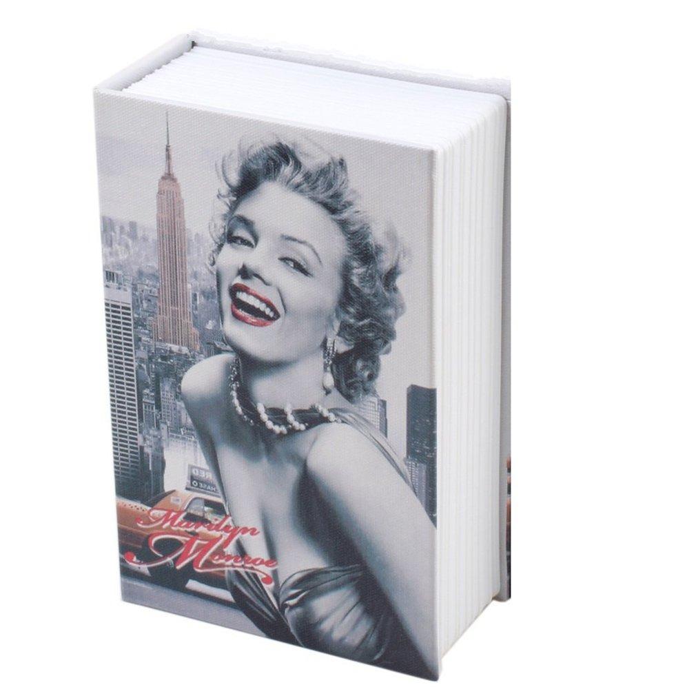 Exquisite Creative Book Safe Creative Book Insurance Box Money Box Book Small Key Box Creative Storage Box Gift