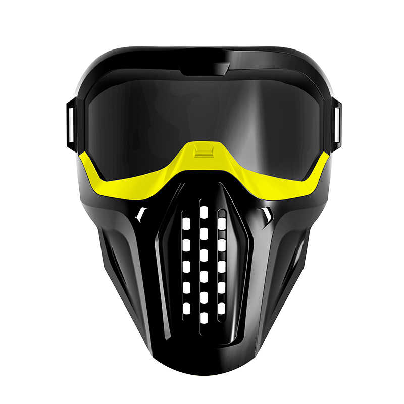 Tactical Mask Protective Eyeglass for Nerf Blaster Out Door Games