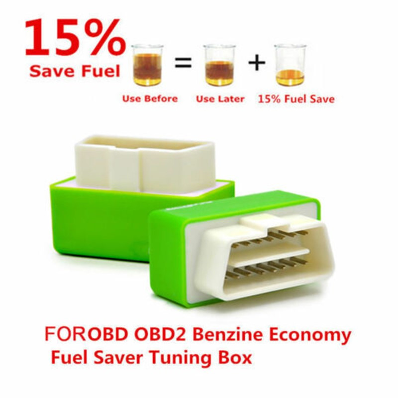 Eco OBD OBD2 Economy Fuel Saver Tuning Box Chip For Petrol Car Gas Saving Z2H6Y