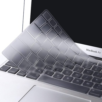 цена на TPU Transparent Clear Keyboard Cover Skin for Macbook Air 13 A2179 Pro Retina 13.3 15 16 inch 2020 A2251 Touch Bar Euro version