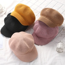 New Summer Straw Hat for Women Sun Hat Breathable Cap Outdoor Casual Hat Octagonal Hats