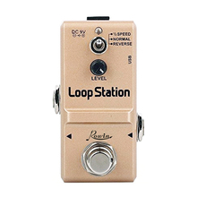Rowin LN-332S Guitar Mini Loop Station Pedal Looper Effect Pedals For Electric Guitar 10 Min Recording Unlimited 3 Modes цена и фото