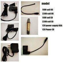 Coil-Replacement-Parts Inner-Plug Copper-Tube Flat-Plug-Series Aquarium C02-Parts 12V