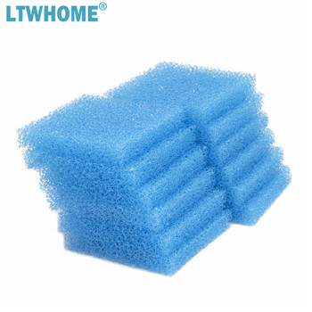 LTWHOME Compatible Blue Foam Replacement for Aqueon Quietflow E Internal Power Filter image