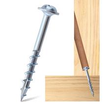 ST4 * 25-63mm śruby samogwintujące do kieszonkowy uchwyt gwint stromy z rowkiem wkręty do drewna do obróbki drewna narzędzia DIY akcesoria tanie tanio NoEnName_Null Maszyny do obróbki drewna Inne High carbon steel Pocket Hole Screws Galvanized Cross(PH2) Coarse thread slotted