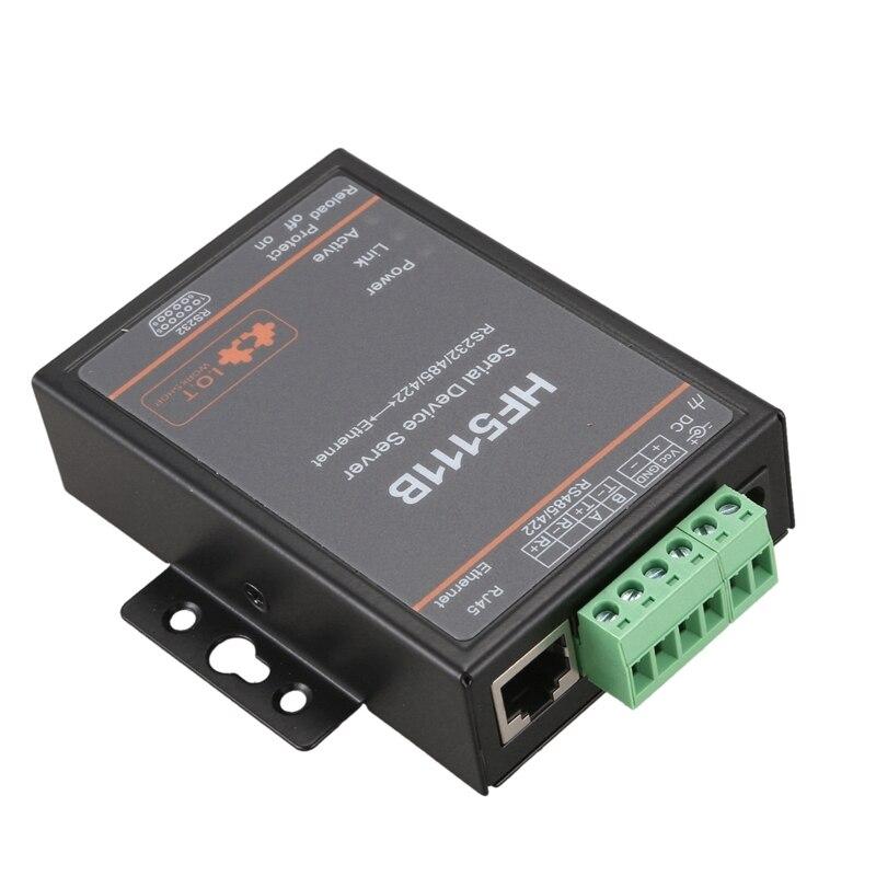 HOT-HF5111B serwer urządzenia szeregowego RS232/RS485/RS422 szeregowy na Ethernet bezpłatny serwer szeregowy RTOS F22498 (wtyczka EU)
