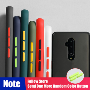 Shockproof Armor Silicone Case For Oneplus 7T 7 Pro 6T 6 Cover For One plus 1+6T 7 7T 1+7 1+7T Pro Transparent Casing Bumper(China)