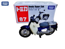 Genuine takara tomy Tomica NO. 87 Super Cub Scale 1:64 motorcycle Diecast metal Car toy vehicle model Collection new toys(China)