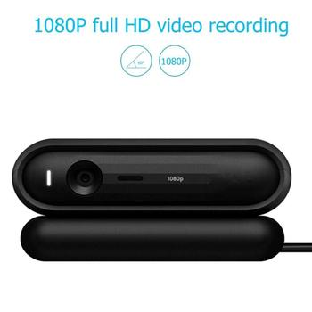 Fanshu USB Webcam Full HD 1080P Youtube Live Streaming PC Computer Laptop Web Camera with Microphone Support Android IPTV System 3