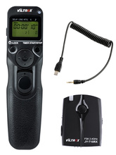 Беспроводной пульт дистанционного управления для камеры Viltrox, с таймером и спуском затвора, для Sony A9 A7II A7SII a7II A6500 A6300 HX60 HX50 RX100M6