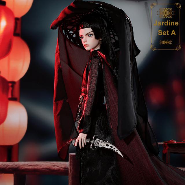 BJD Dolls Jardine 1/3 Ball Jointed Doll High Fashion  Collection Model Ballet Dancer Shuga Fairy