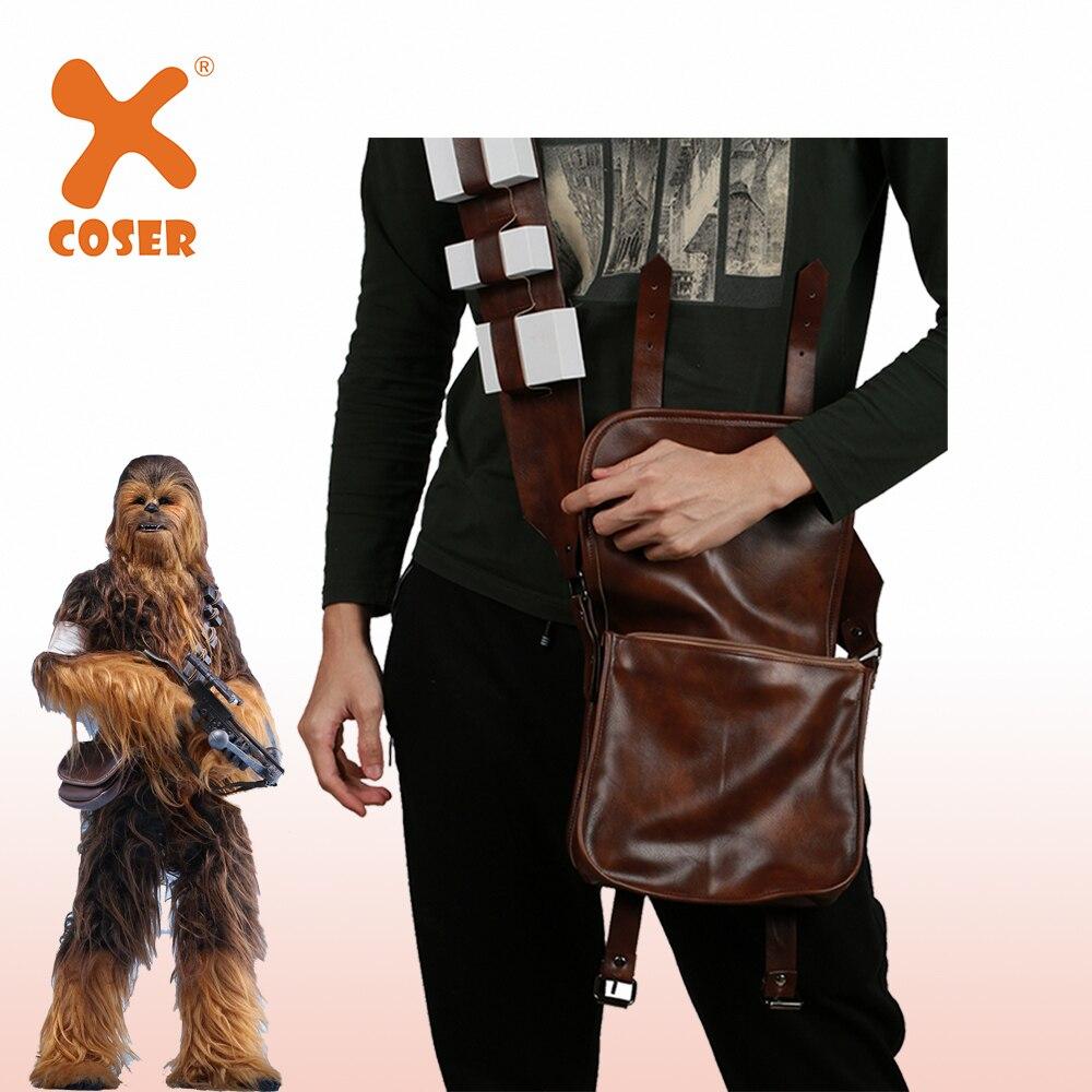 XCOSER Серия 3 Месть Ситхов фильм Чубакка рюкзаки косплей реквизит Хэллоуин аксессуары к костюму для Косплей