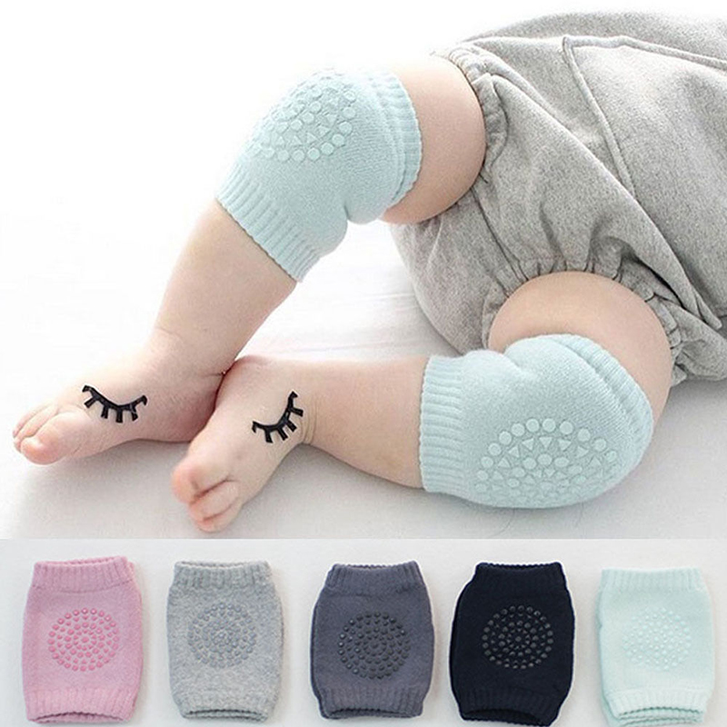 Multifunction Oversleeve Knee Pads Baby Crawling Anti-Slip Leg Elbow Protector