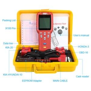 Image 5 - Автомобильный сканер XTOOL X100 Pro, Автомобильный сканер OBD2, ключевой программатор/Регулировка пробега, ЭБУ, иммобилайзер, считыватель пин кодов