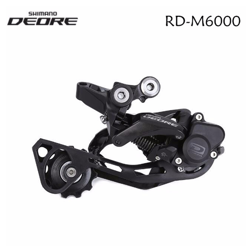 Shimano Deore RD-M6000 Shadow+ 10 Speed Mountain Bike Bicycle Rear Derailleur M6000 MTB Bike  GS SGS  Long Cage With Lock