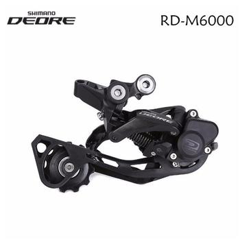 Shimano Deore RD-M6000 cień + 10 prędkości rower górski przerzutka rowerowa tylna M6000 MTB rower GS SGS długa klatka z zamkiem tanie i dobre opinie Przerzutki sgs long cage Stop
