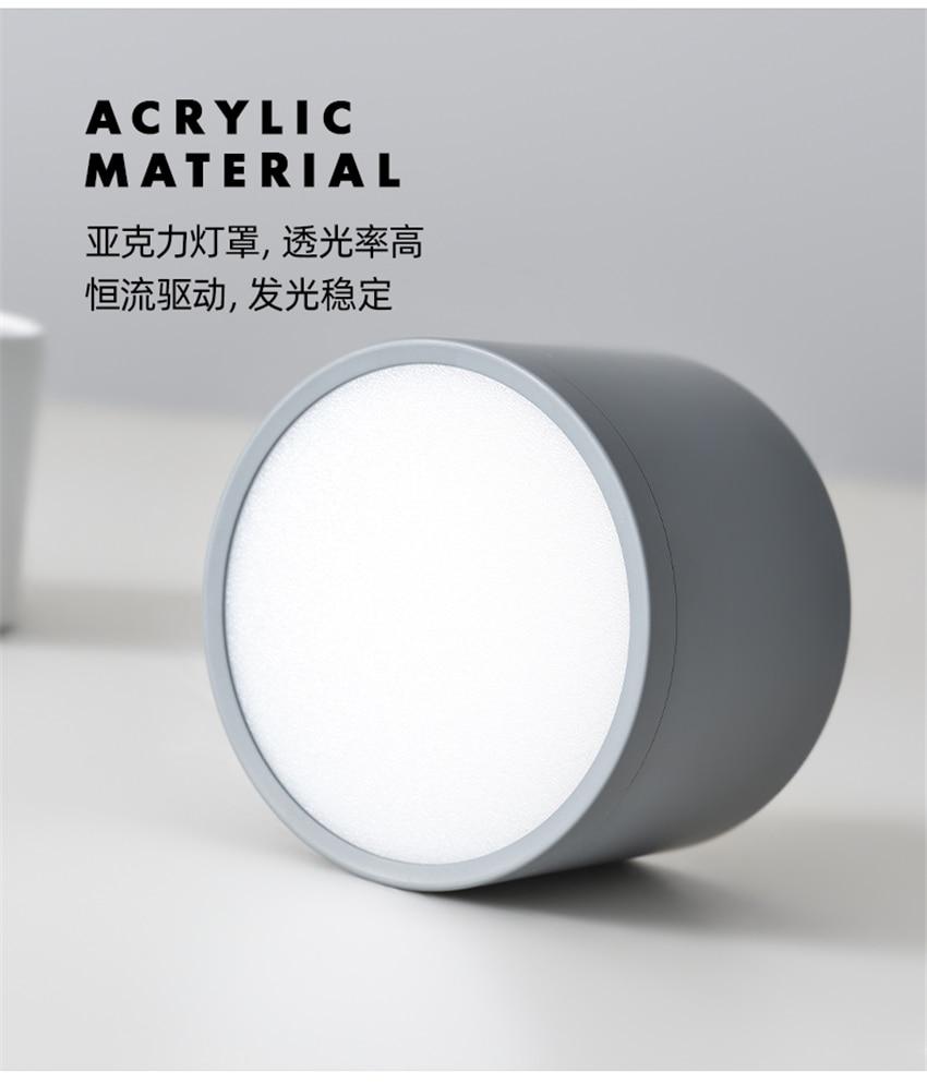 alumínio lâmpadas teto luminárias