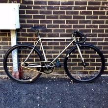 Vintage personalizado cuadro de bicicleta de carretera Chapado en cobre marco 700C piñón fijo bicicleta de pista marcha única bicicleta 50cm 56cm 58cm fixie bicicleta