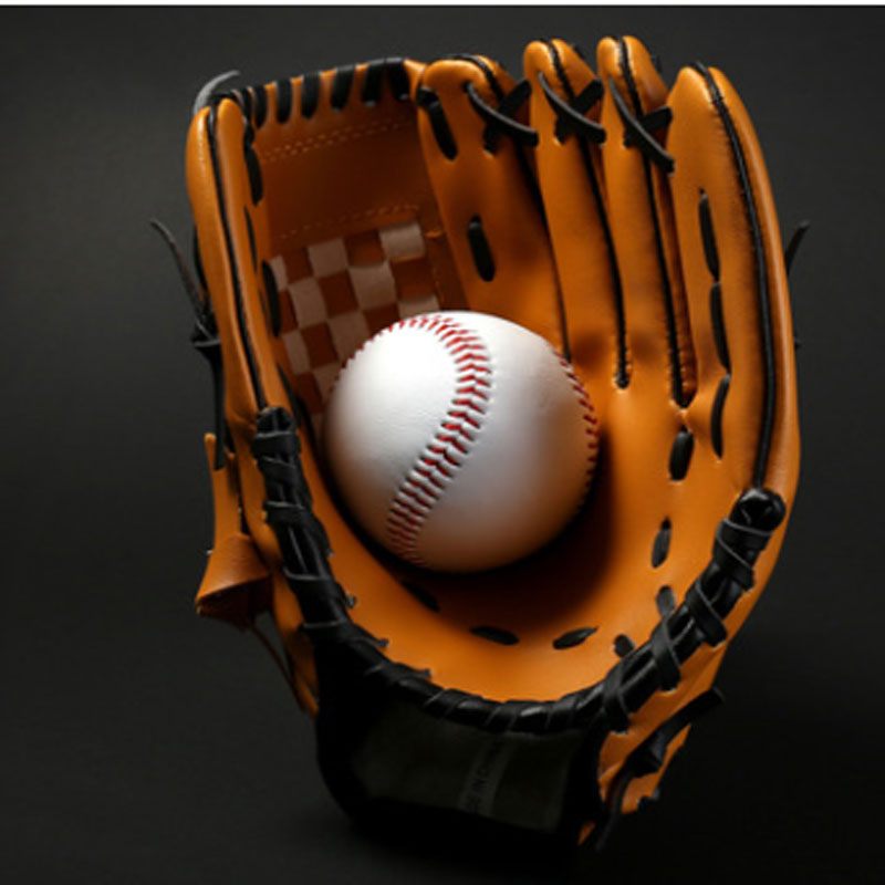 Outdoor Sports Two Colors Baseball Glove Train Softball Practice Equipment Size Left Hand For Adult Men Women
