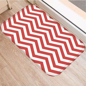Image 4 - Celosía geométrica alfombra decorativa antideslizante para dormitorio, suelo de cocina, sala de estar, baño, 40x60cm