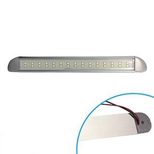 Image 5 - 12V Marine Boot LED Streifen Licht Stick Kabine Accent Beleuchtung Außen Schritt Courtesy Lampe Motor Home Zubehör 276MM