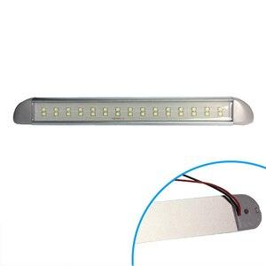 Image 5 - 12V barco marino LED tira de luz de conducción cabina acento iluminación Exterior paso cortesía lámpara Motor accesorios para el hogar 276MM