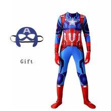 Halloween Kostuums Superboy Kids De Teamleider Amerikaanse Met Masker Kerstcadeau Kinderen Movie Cosplay Voor Jongens Meisjes S-2XL