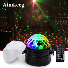 Stage Light LED 3W Disco DJ Party Laser Projector Christmas Decoration Mini Ball Lamp Prom KTV Performance Professional Lighting