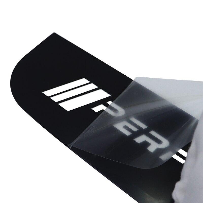 lowest price LQY car Stickers Acrylic Brake Lights Decorative Cover For BMW M f30 f10 e46 e90 e92 e91  E36 F30 G30 G31 G38 G11