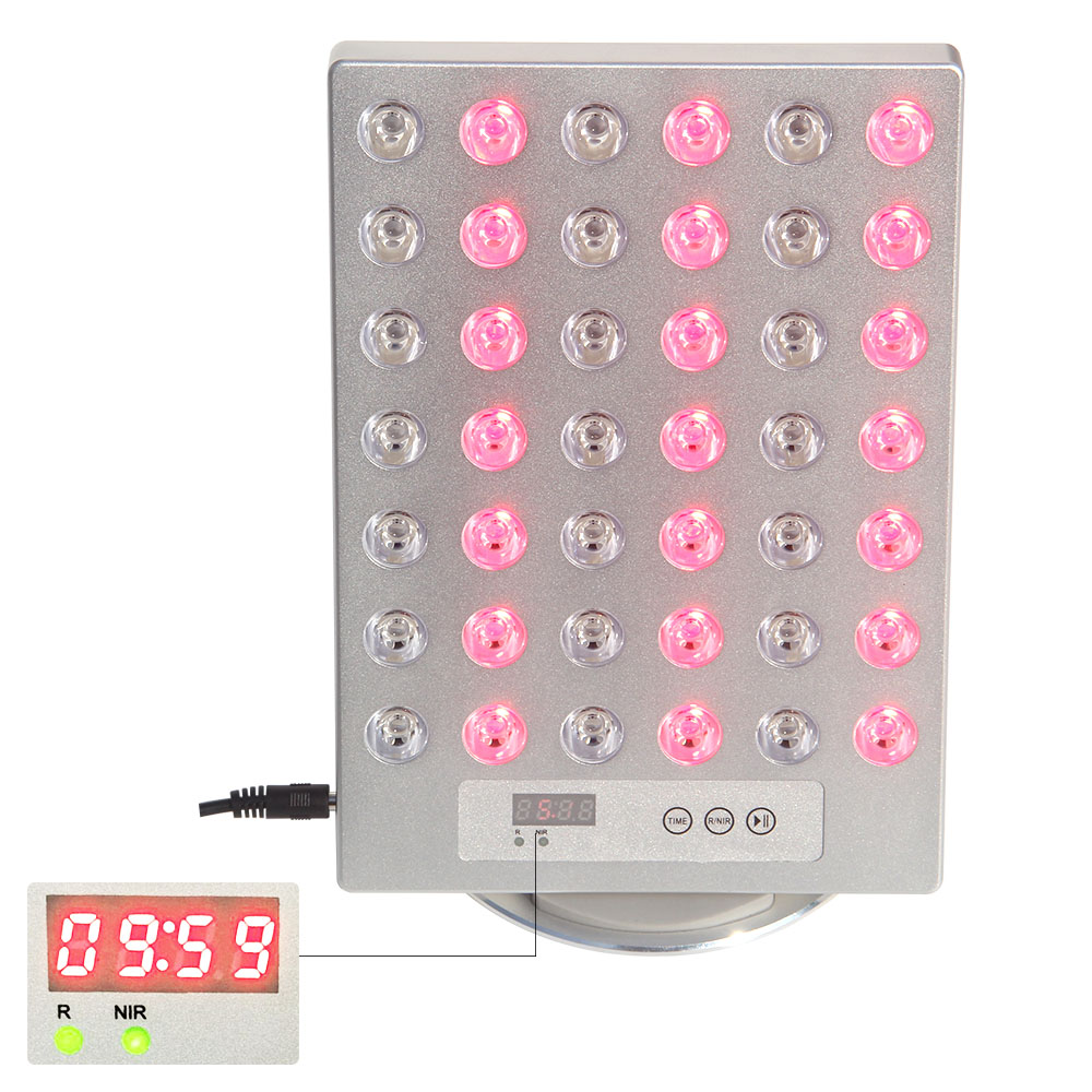 New Anti Aging Pain Relief Led Therapy Light 850nm 660nm Sliver Color Aluminum TLplus Red Light Therapy Panel
