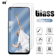 2Pcs Oppo A52 Tempered Glass For Oppo A52 Screen Protector For Oppo A52 Protective Glass Film cheap CN(Origin) Front Film Anti Blue-ray Mobile Phone 0 26mm+2 5Degree arc incision 9H Hardness Free Shipping