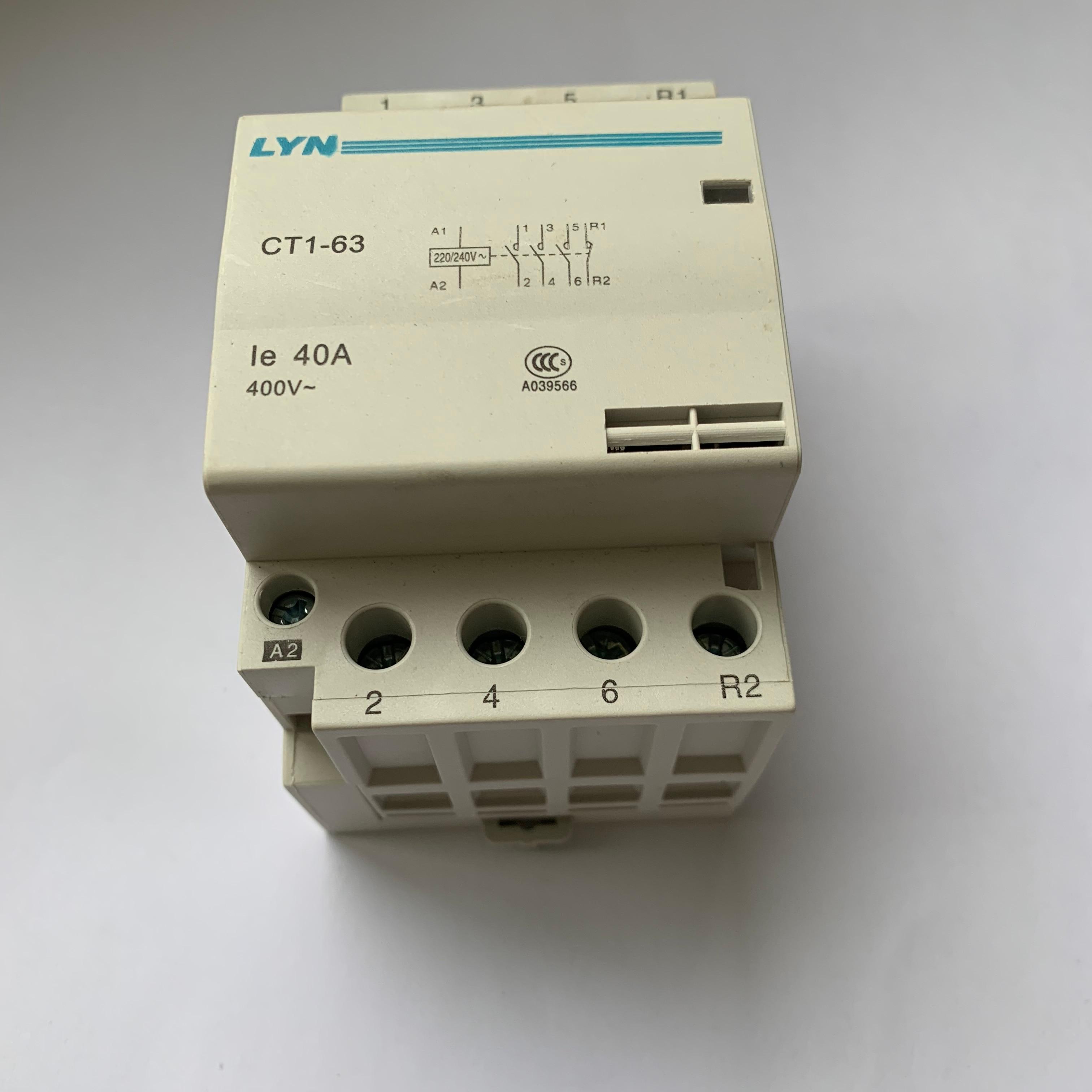 ct1 63 ac casa contator 4p 32a 40a 01