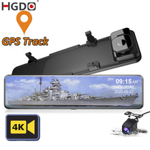 Parking-Monitor Rear-View-Mirror-Camera Dash-Cam DVR Gps-Video-Recorder Car Registrar