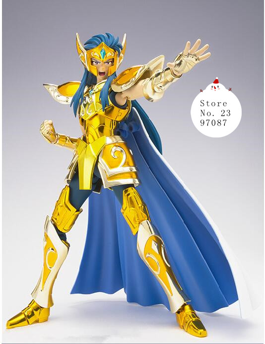 New Arrival High Quality Metal Club S -stemple Aquarius Camus Saint Seiya Cloth Myth Gold Ex Action Figure Toy