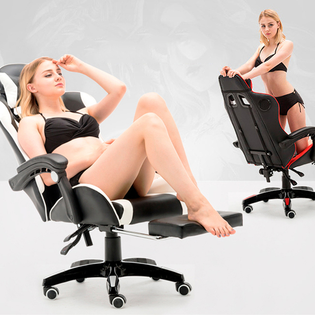 Free Shipping Professional Computer Chair LOL Internet Cafe Racing Chair WCG Gaming Chair Office Chair 3