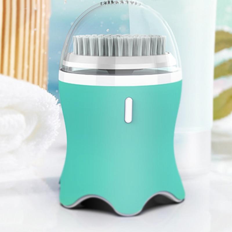 Очищающая щетка для лица для отшелушивания, электронная Очищающая щетка для лица с 3 режимами, умный таймер и мягкая щетина, Waterproo - 4
