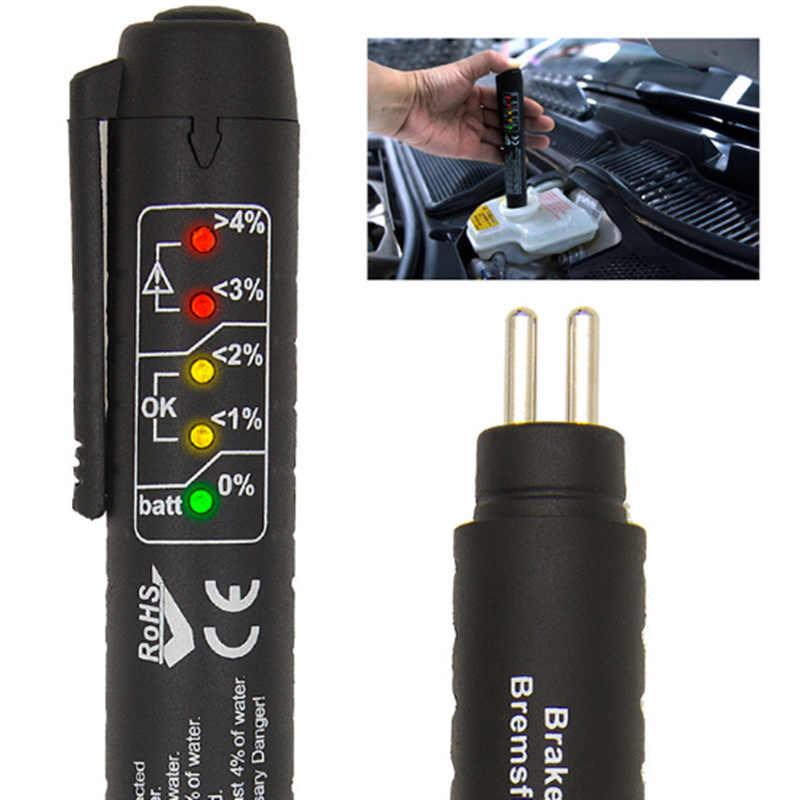 Caneta de verificação do carro testador digital líquido freio para honda insight nissan juke citroen berlingo volkswagen transporter t5 ford