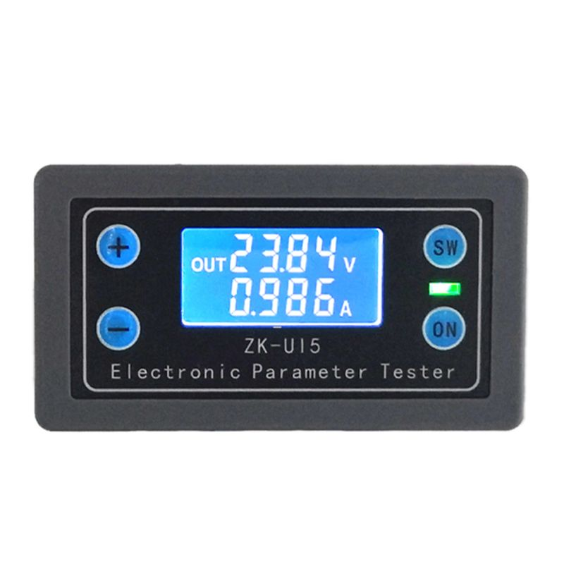 DC 5-38V Battery Capacity Tester Voltmeter Ammeter Electronic Load Battery Monitor Tester Electric Parameter Power Display