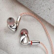 TINHIFI P1 HIFI מתכת אוזניות 10mm Orthodynamic מישוריים סרעפת נהג DJ אוזניות MMCX כבל פח P1 T2 פרו t3 S7 F3 KXXS מלכת