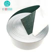 1m 65mm/80mm/100MM 18650 ליתיום סוללה בידוד אטם שעורה נייר סלולרי חבילת בידוד דבק דגים אלקטרודה מבודדת רפידות