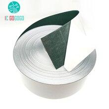 Aislamiento de la batería de iones de litio 1m 65mm/80mm/100MM 18650, junta de papel de cebada, paquete de pegamento aislante celular, almohadillas aisladas de electrodos de pescado