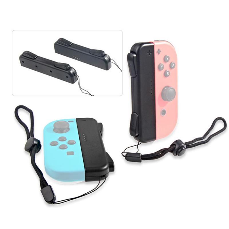 1 Set von 5-In-1 Stecker Montage Links und Rechts ABS Griff Halterung Abdeckung für Nintendo Schalter ns Freude Con Controller