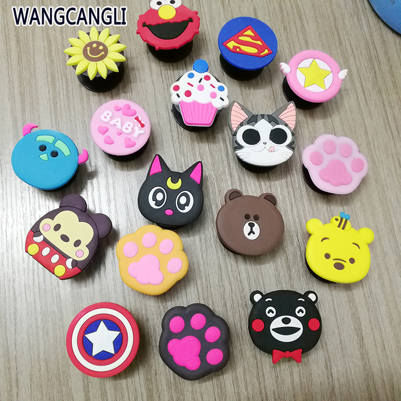 Wholesale Universal Mobile Phone Elastic Bracket Cartoon Airbag Mobile Phone Bracket Car Finger Support Mobile Phone Holder
