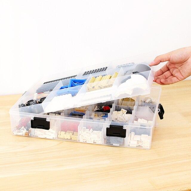 Multi-Layer Building Blocks Lego Large Capacity Storage Case  2