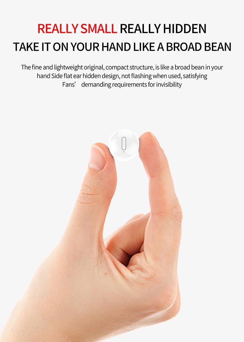 Nisheng SQR MINI X20 Wireless Earphone 6