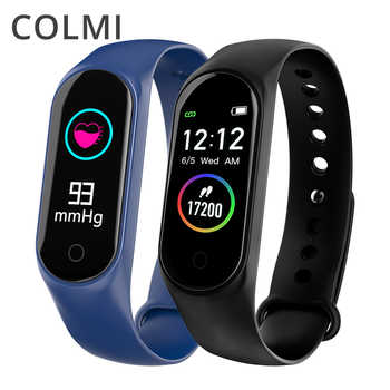 COLMI M4S Smart Bracelet Color-screen IP67 Fitness Tracker blood pressure Heart Rate Monitor Smart band For Android IOS phone - DISCOUNT ITEM  29% OFF All Category