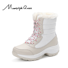 Shoes woman Snow boots New Fashion Gao Gang  Winter Short plush warm waterproof Women boots Snow boots ankle boots women shoes недорого