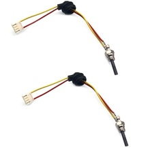12V 88-98W Parking Heater Ceramic Pin Air Glow Plug Heater for Car Truck,2Pcs
